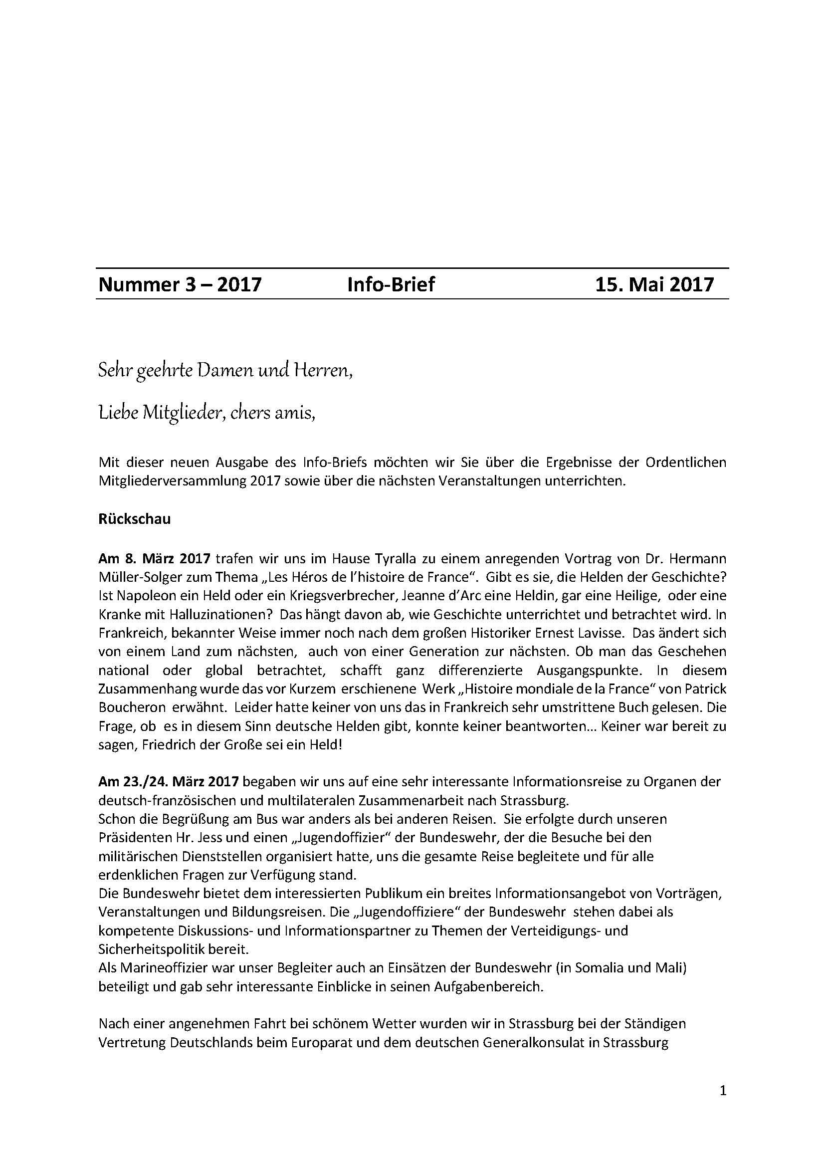 Infobrief 2017 3 Deutsch Französische Gesellschaft Bonn Und Rhein